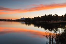 Sunset over the Lake, Tuggeranong, Australia