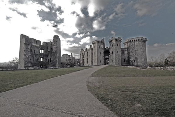 Raglan Castle Monmouthshire.