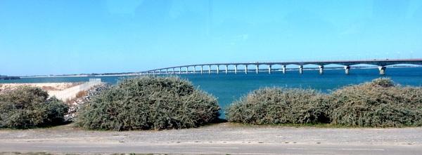 Bridge from La Rochelle to Ile de Re by Don20