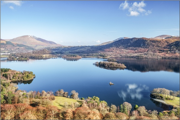 Derwentwater from Catbells by DTM