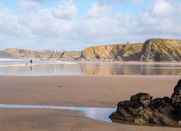 Along a Cornish Beach