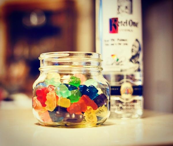 Vodka Gummybears by Kuhndnk
