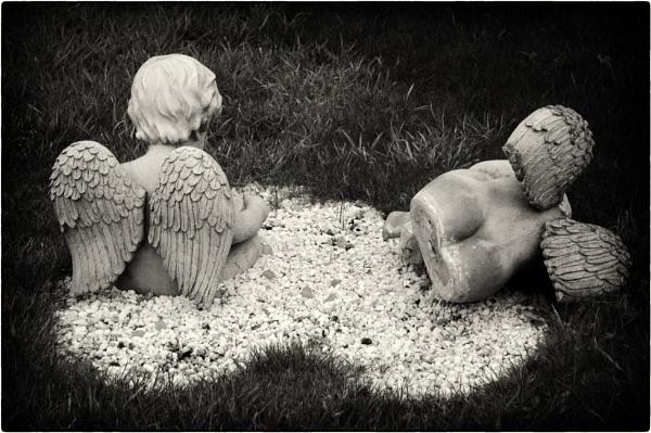 Fallen angel by mrswoolybill
