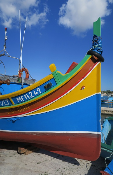Maltese Fishing Boat by Silverzone