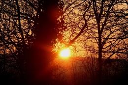 Sunset over Exmoor