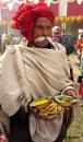 Pilgrim with breakfast by debu