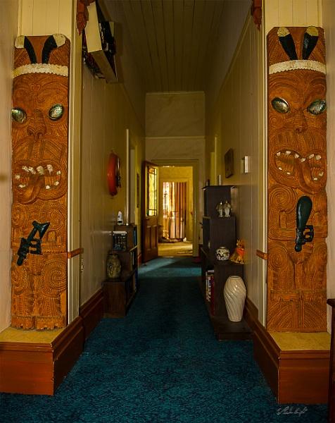 Maori carvings tell a story. by paulknight