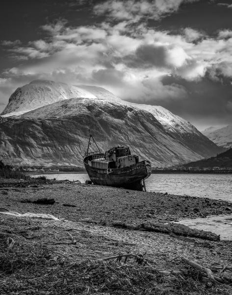 Ben Nevis & The Ship Wreck by john_starkey