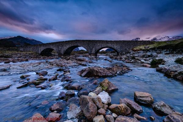 Dawn at The Old Bridge, Sligachan. by geffers7