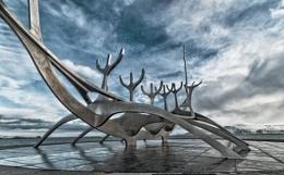 Sting in the Tale (Solfar), Reykjavik, Iceland