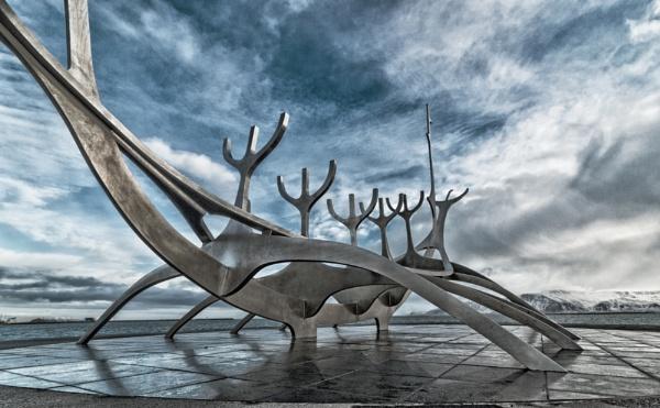 Sting in the Tale (Solfar), Reykjavik, Iceland  by BobinAus