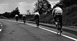 Ciclistas.