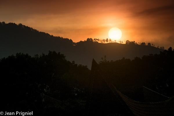 Lake toba sunset by Jprigniel