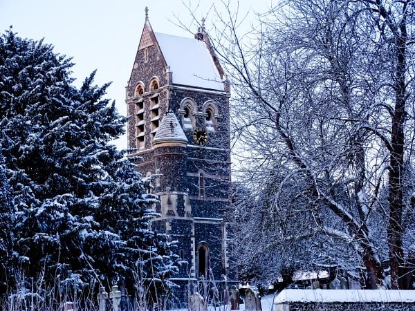 Morning walk to Ospringe church