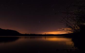 North Third Reservoir under the stars