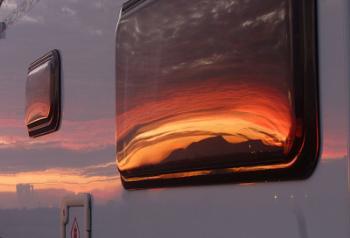 Motorhome Sun Set
