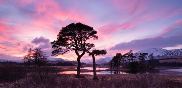 Loch Tulla Sunset by PaulHolloway
