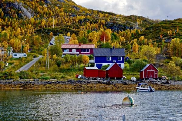 Bergsfjord-Northern Norway by Mannyfreedman