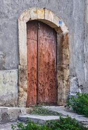 Rusting Old Iron Door