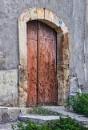 Rusting Old Iron Door by nonur