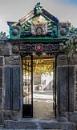 The Pedimented Stone Gate by nonur