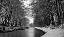 Morning Snow on the canal by bouic