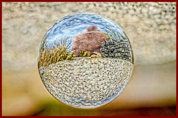 My Spherical World by blackbird3