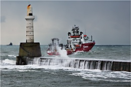 Clearing the Breakwater