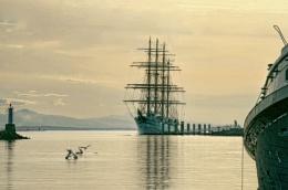 Tall Ship Moored