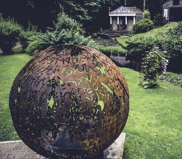 Laser cut Sphere. by RLF