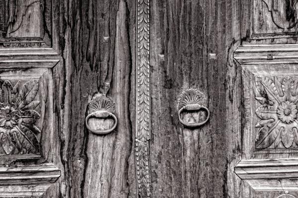 Wooden door by rninov