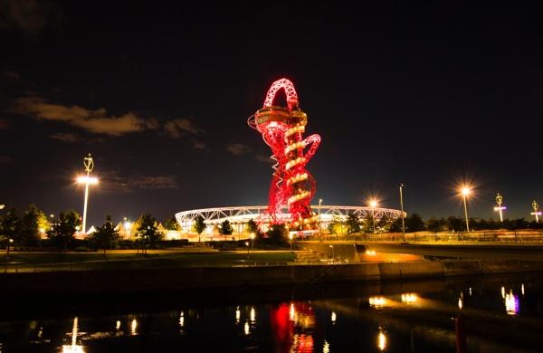 The Queen Elizabeth Stadium at night by GenesisLive