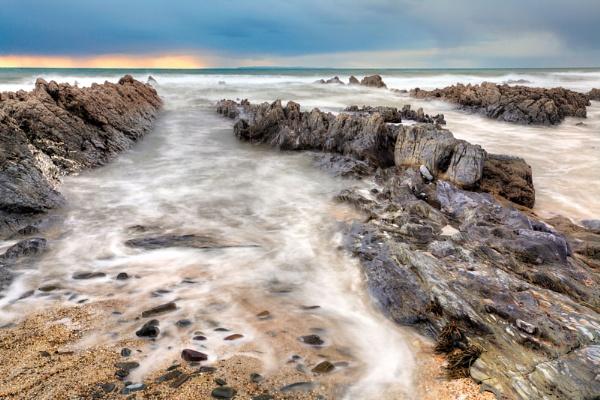 Approaching Rain, Croyde Bay, North Devon by RobDougall