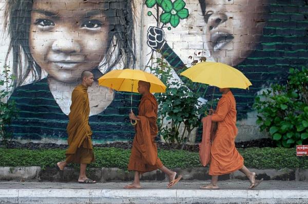 bhikkhu by Scaramanga