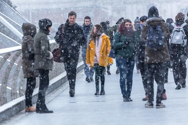 Millennium Snow by rontear