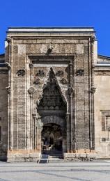 Monumental Portal of Buruciye Medrese