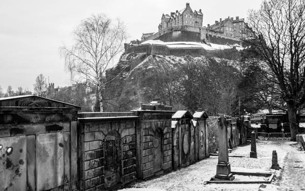 Edinburgh Castle by scorpion1946