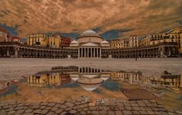 Naples Piazza del Plebiscito