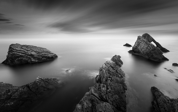 Bow Fiddle Rock by billycurriephotography
