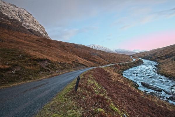 Glen Etive by pink