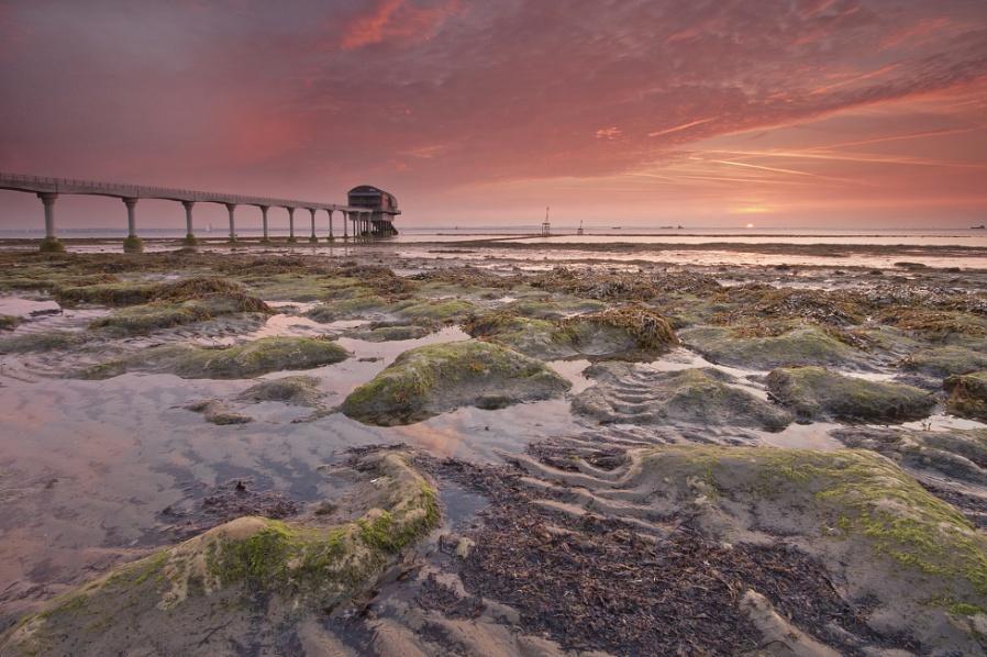 Dawn across the Solent