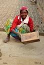 Woman Labour In Indian Brick-field by debu