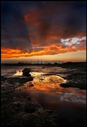 Morston Quay sundown.....