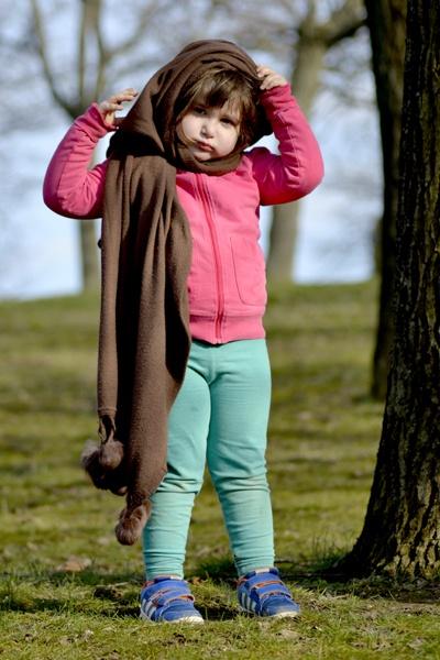 Anastasia posing by Laslo