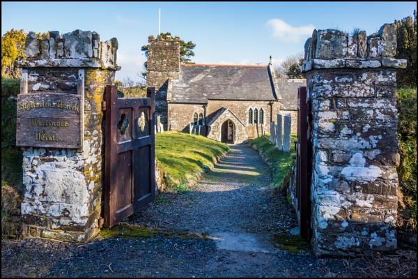 Martinhoe Church, Devonshire