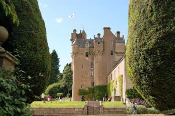 Crathes Castle.