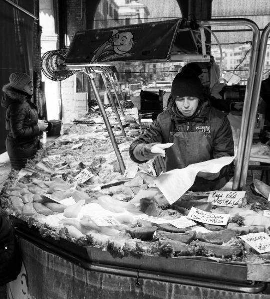 Mercato del Pesce, Rialto by NevJB