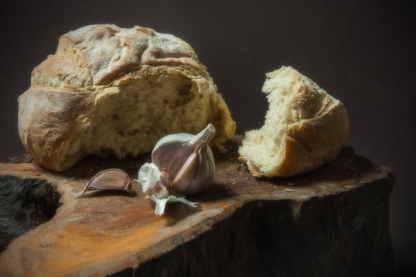Garlic Bread Still Life by Les_Cornwell