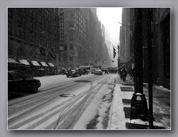 *** Snowy street *** by Spkr51