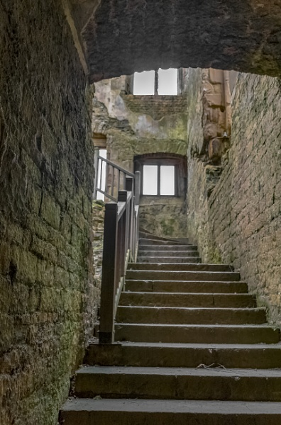Stairs by OverthehillPhil